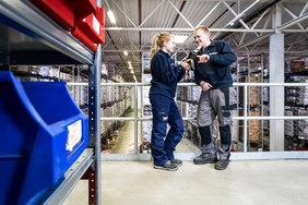 Geschäftsbereich Personaldienstleistung - Noerpel Mitarbeiter
